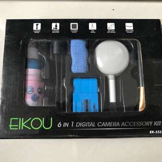 6-in-1 digital camera accessory kit
