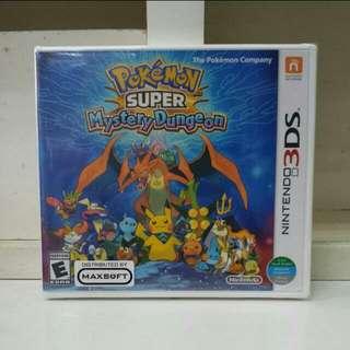 3DS Pokemon Super Mystery Dungeon