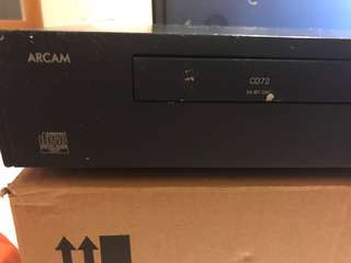 Arcam CD Player -CD 72