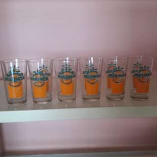 Collectible.  MARINDA glasses. 6pcs