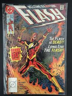 The Flash 50th issue DC Comic. (Mint condition)