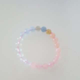 Brand New Colourful Crystal Bracelet
