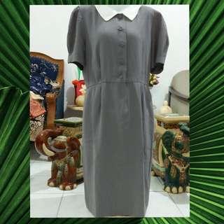 Dress vintage abu abu