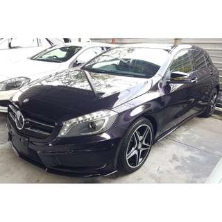 MERCEDES BENZ A180 1.6 AMG SPORT NIGHT PACKAGE DISTRONIC (A) OFFER UNREG 2014