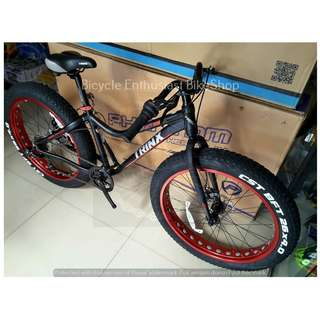 Trinx T106 Fatbike 26 Mechanical Bicycle Bike Fat Bike