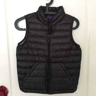 Uniqlo Black down vest