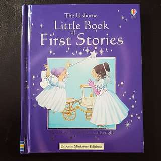 Usborne Little Book of First Stories (Hardcover)