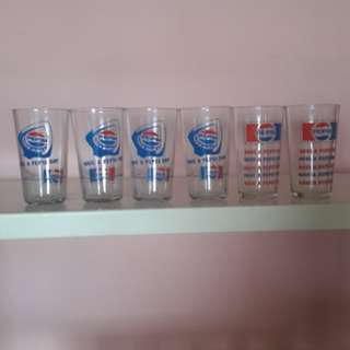 Collectible.  Pepsi glasses 6pcs