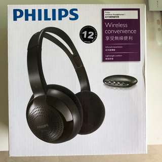 Philips Wireless hi-fi headphones SHC1300 飛利浦 - 無線 hi-fi 耳筒 SHC1300
