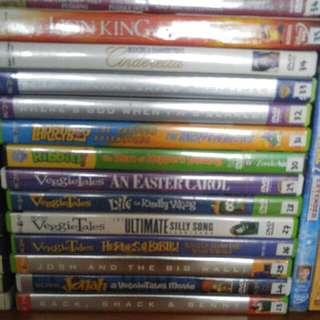 Veggie Tales DVD - orginals