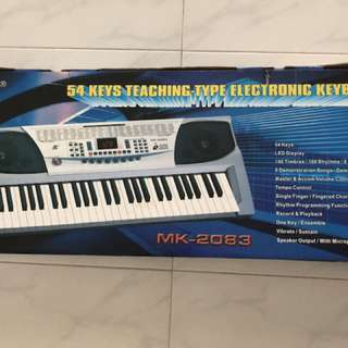 54 keys teaching type electronic keyboard (MK-2073)