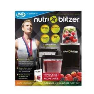 Nutri blitzer blender (black)