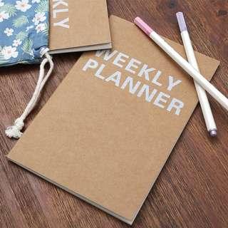[Planner] Weekly Book