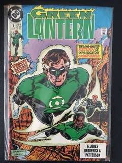 The Green Lantern DC Comic (1st to 9th edition). Mint condition