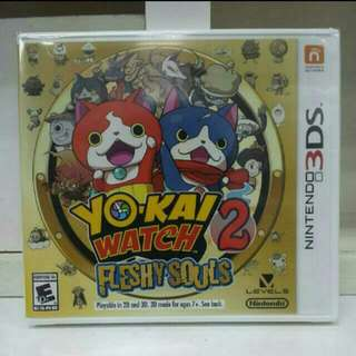3DS Yo-kai Watch 2 Fleshy Souls