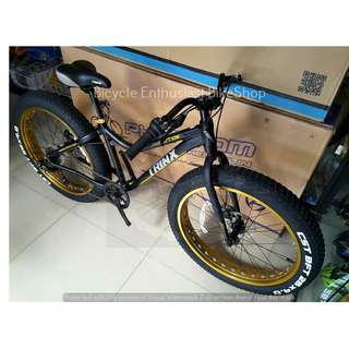 Trinx Tiger T106 Fatbike Bicycle Mechanical Bike Fat Bike