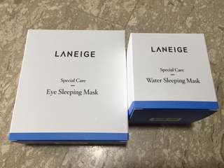 Laneige Sleeping Mask + Eye Sleeping Mask Set