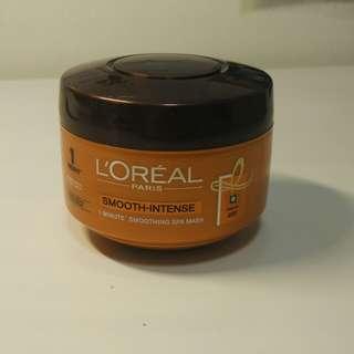 L'Oréal Smooth Intense Hair Mask 200 ml