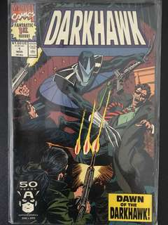 Darkhawk Marvel Comic (very 1st edition). Mint condition and very rare.