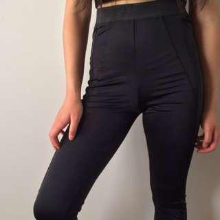Ally - Black Leggings