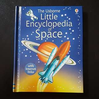 Usborne Little Encyclopedia of Space (Hardcover)