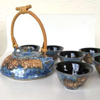 Tenmoku Tea Set