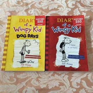 Diary Of A Wimpy Kid 100%New                         一本$35二本$65