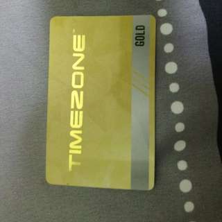 TimeZone Gold Power Card