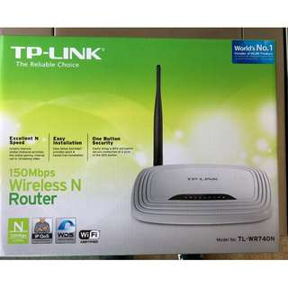 150Mbps 無線 N 路由器 TL-WR740N Wireless Router