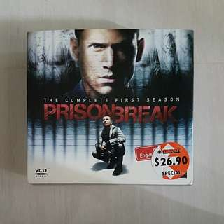 Prison Break (1st season VCD set)