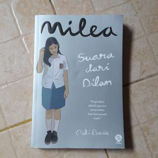 Sale Novel Milea Original