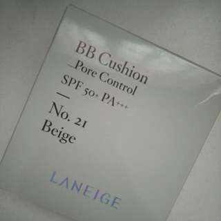 Laneige BB Cushion refill pore control