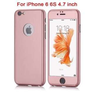 Iphone 6/6s 360 case (rose gold)