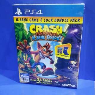 Crash Bandicoot N-Sane Trilogy Socks bundle