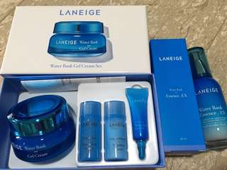 Laneige Water Bank Essence & Gel Cream Kit