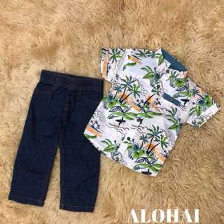 Boy set ( size 1/2/3/4/5 yrs)