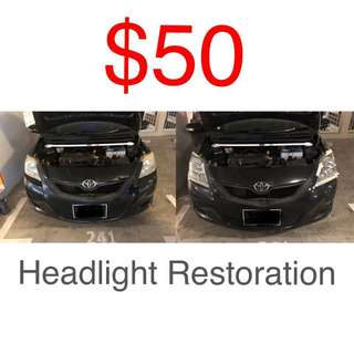 Headlight Restore 7