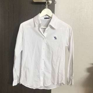 Cheap white Long sleeve shirt
