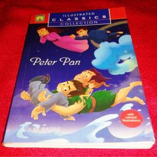 Illistrated Peter Pan