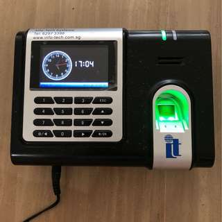 Biometric Fingerprint Thumbprint Attendance System