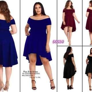 Plussize dress fits upto 2XL