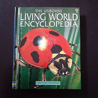 Usborne Living World Encyclopedia (Hardcover)