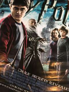 Limited Edition Original HARRY POTTER AND THE HALF-BLOOD PRINCE Large Movie Poster