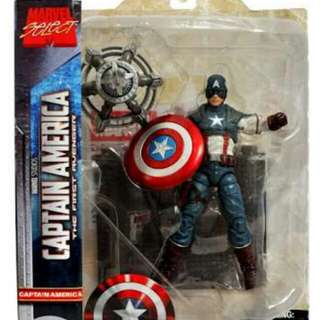 Marvel Diamond Select The First Avenger Captain America