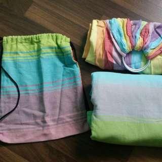 Bundle Little Frog Ringsling, Wrap & Bag