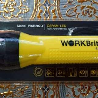 Workbrite WSB202-Y Intrinsically Safe Flashlight Rtp - $80 / Selling - $35