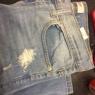 Levi's Slim Destructed Boy's Jeans
