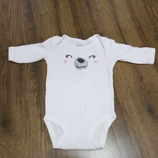 Carter's Onsie Bear for new born to 3 months
