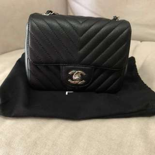 Chanel mini square 17cm