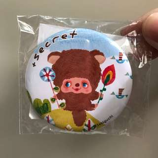 日本限定 monchhichi monchichi +secret 襟章 pin